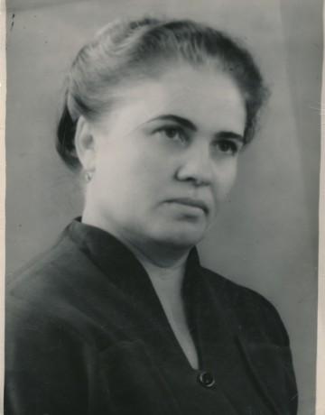 Коврижных Екатерина Владимировна. Июнь 1957 г.
