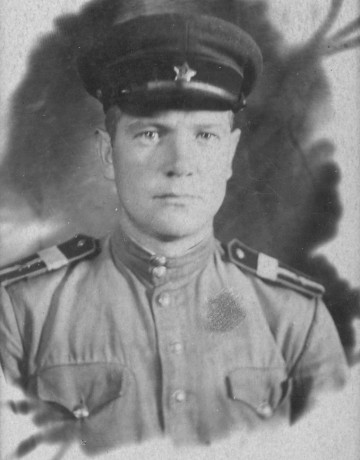 Портрет Выскубенко Алексадра Ивановича. 1944 г.