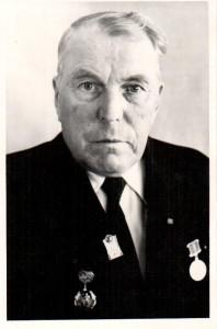КП НВФ-7029-1  Лебедев А.А. Портрет Авсиевича Егора Александровича. 1980 г.